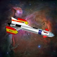 Fireball XL5 Rocket Ship